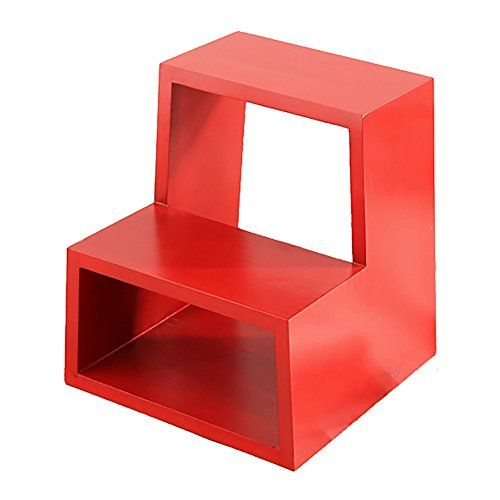 Lxf Step Stool Solid Wood Step Stool Household Storage