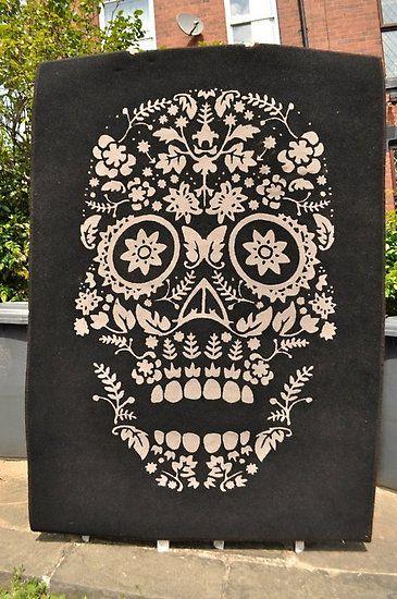 Skull Rug By Tenzing Furniture Amp Decor Pinterest