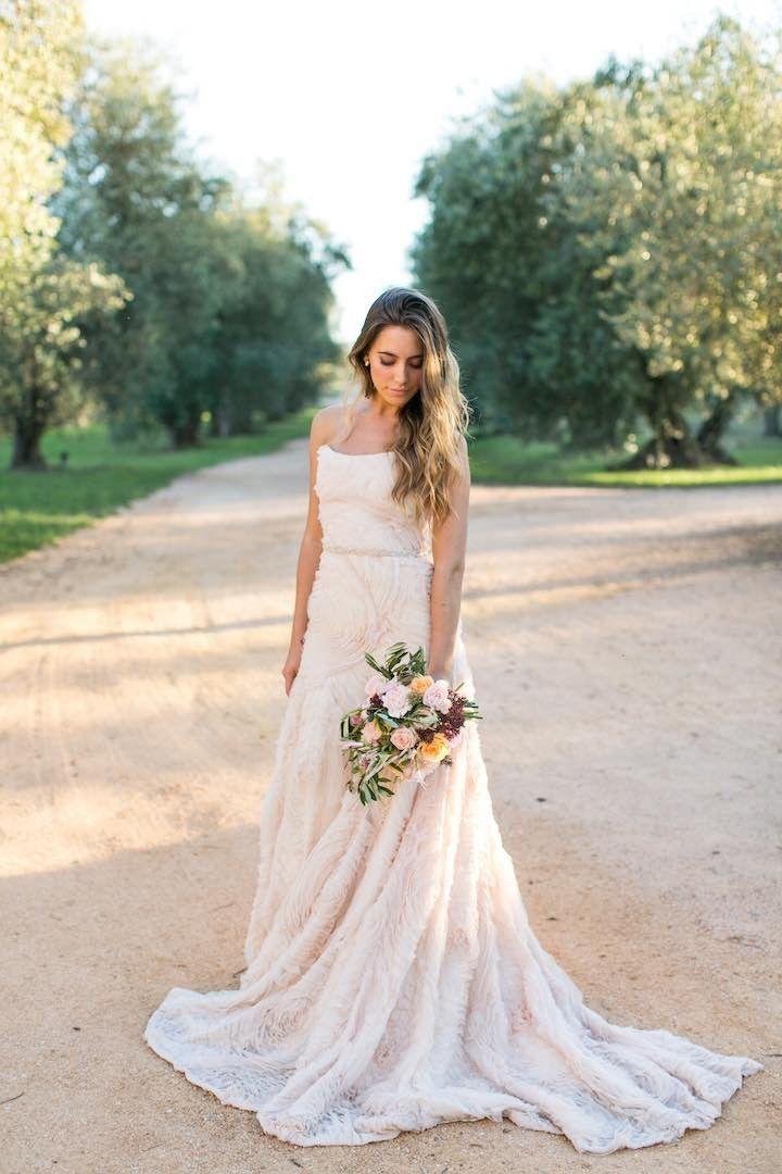 Ball Gown Wedding Dresses : Spanish Wedding: Rustic Mediterranean ...