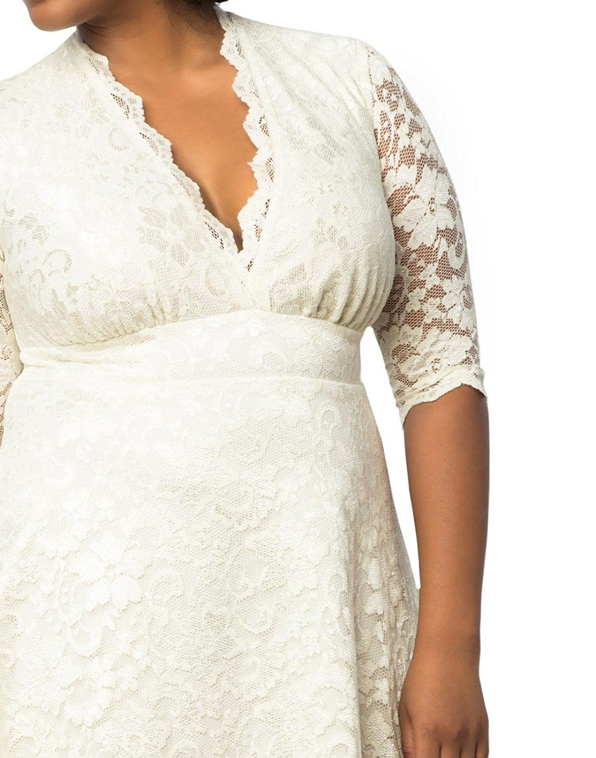 Kiyonna wedding dress  Kiyonna Womenus Plus Size Wedding Belle Dress at Amazon Womenus
