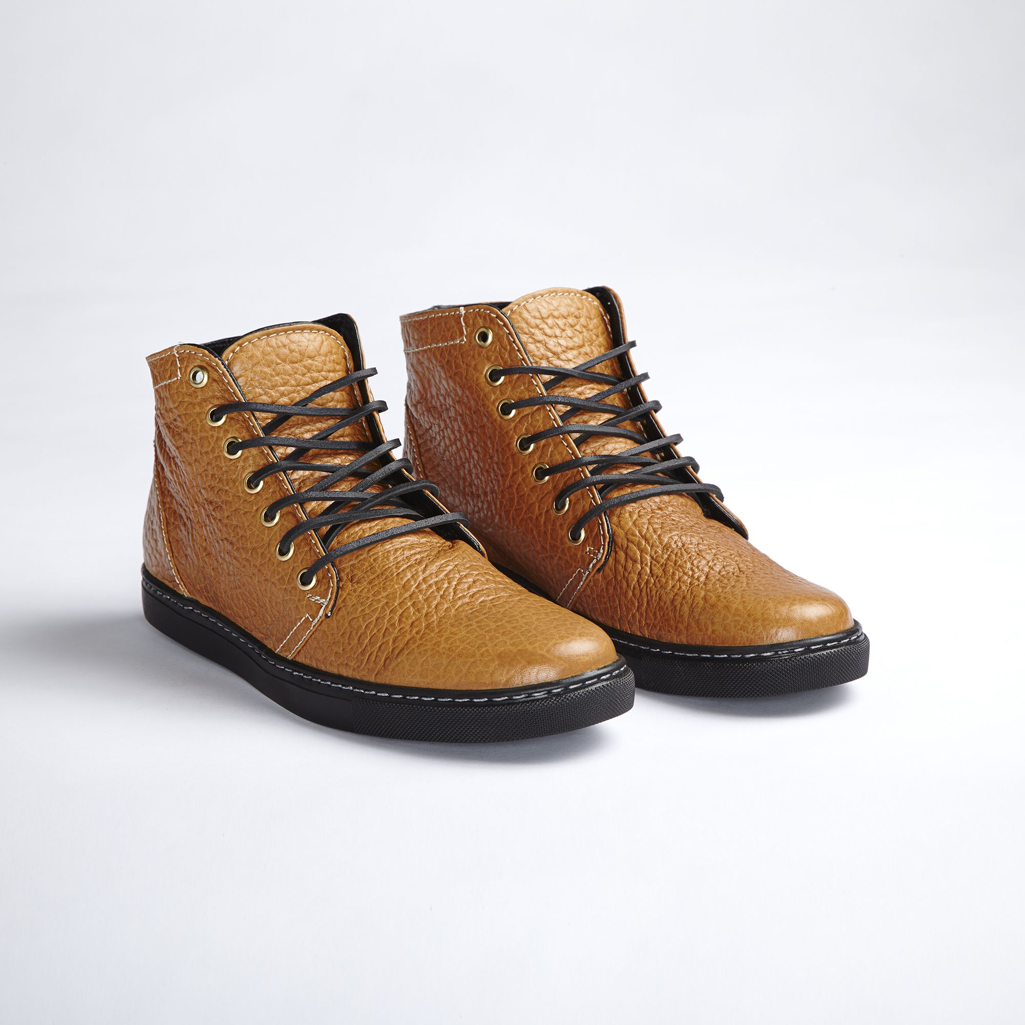 Whiskey high / black soles $275 | Fall shoes, Boots ...