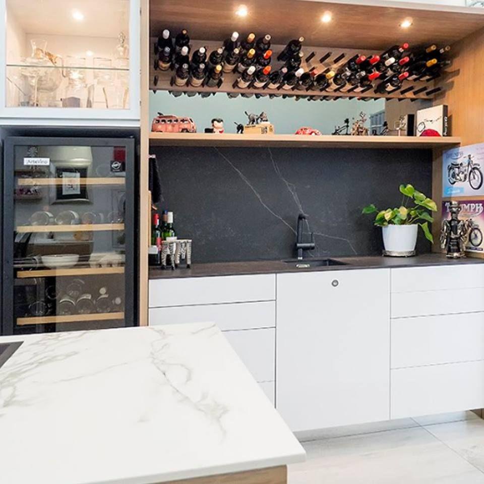 Revestimientos Pared Y Encimeras Dekton Spais Cocinas  # Budnik Muebles De Cocina