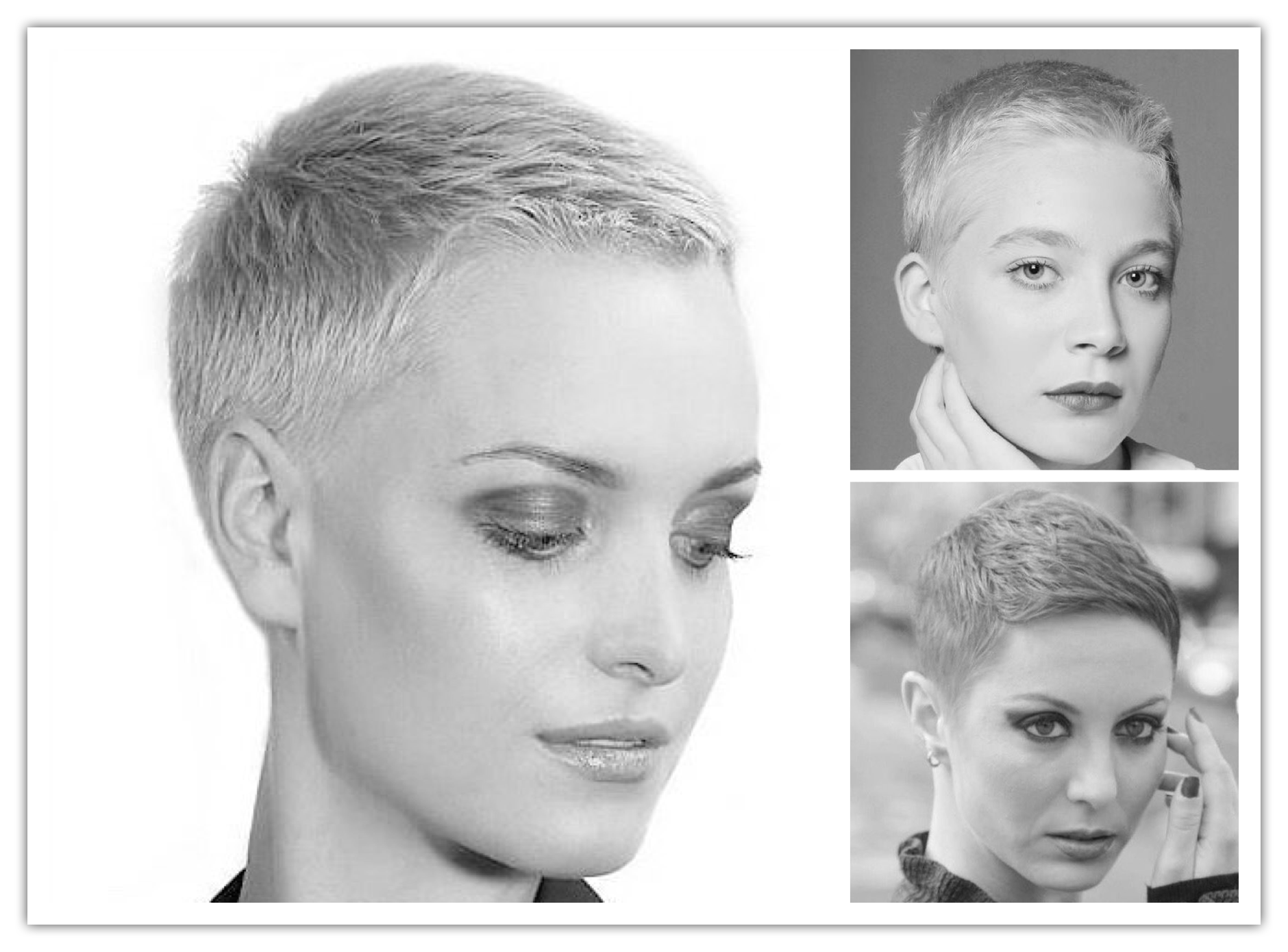3 Forms Of Buzz Cuts (That Bottom Right Is GOALS