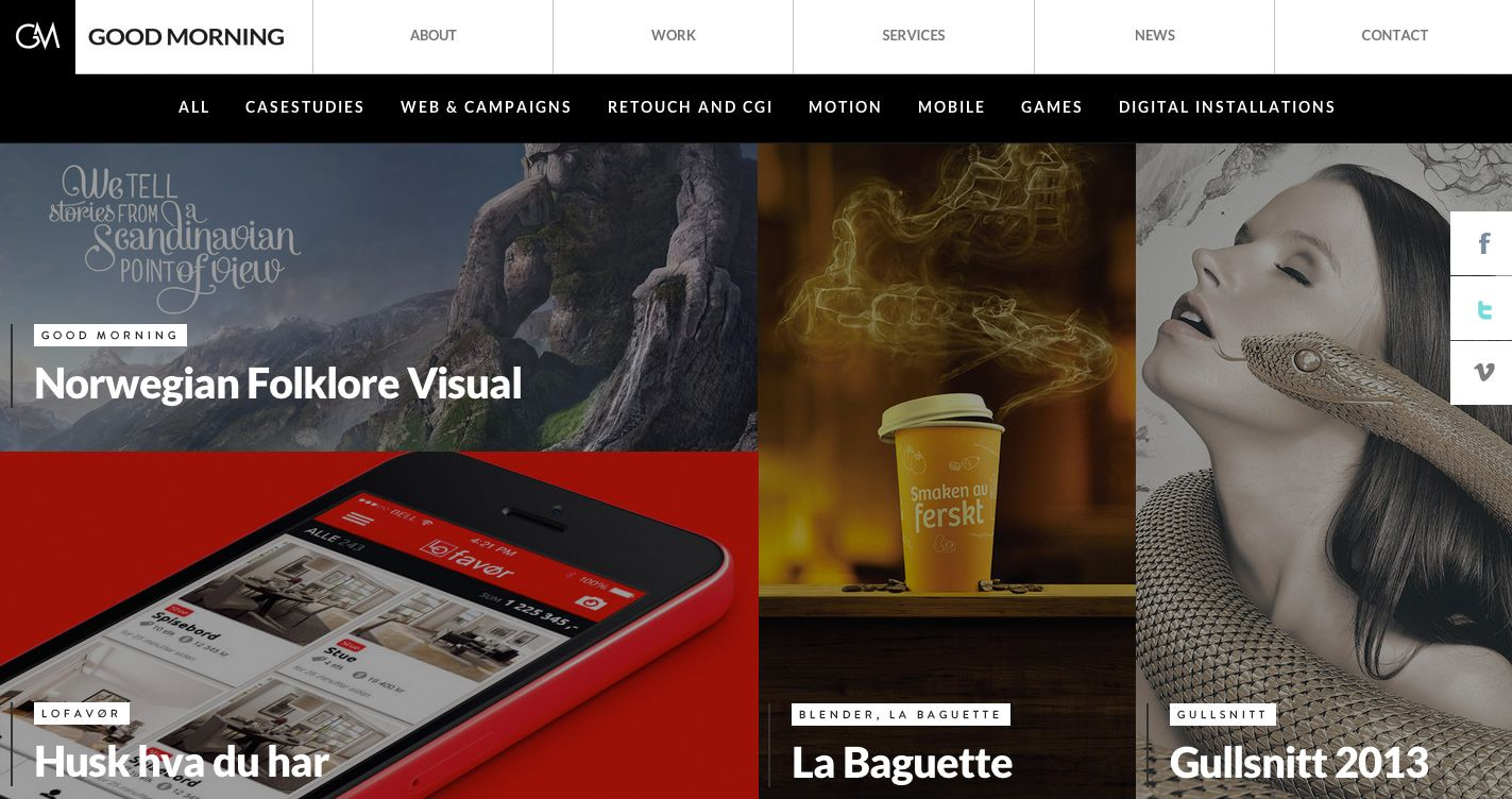 Good Morning - Site of the Day January 26 2014