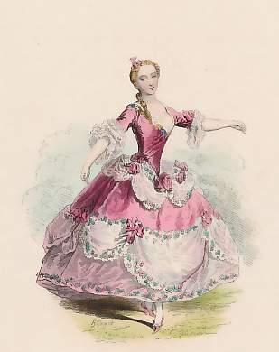 French Fashion Plate Fashion Illustration Vintage Rococo Fashion Fashion Prints