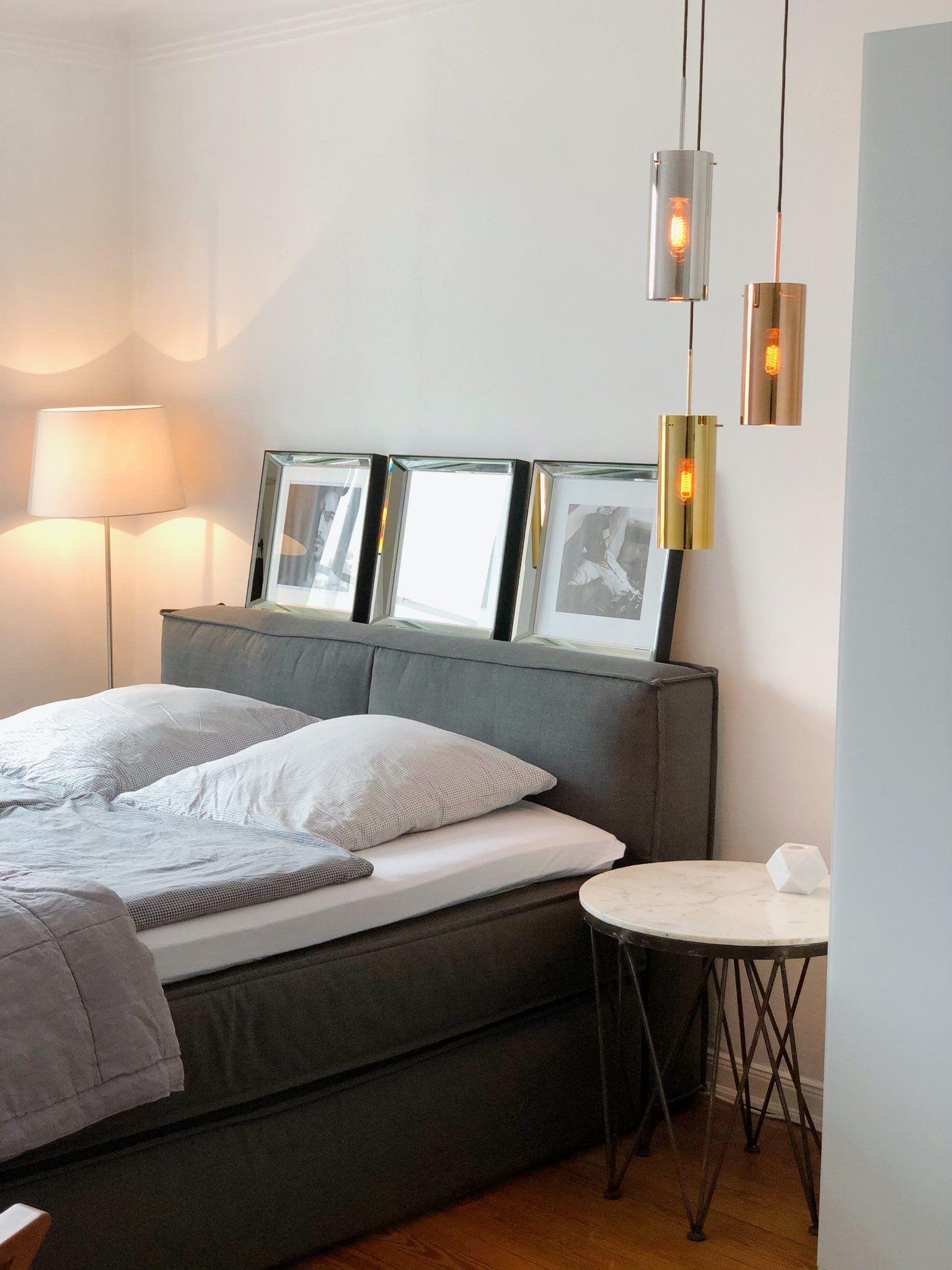 In diesem Schlafzimmer in Hamburg schlafen die Bewohner