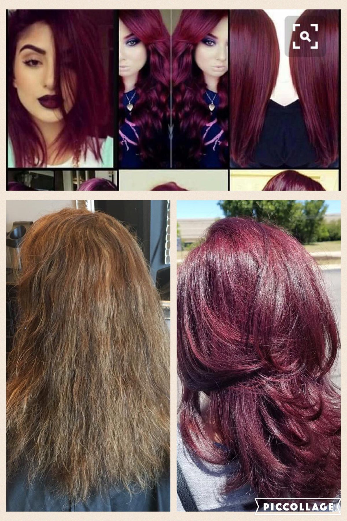 Color Inspiration Photo, Before And After Hair By Chrissie Partin