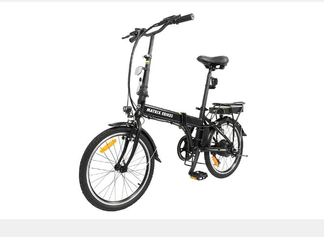 Folding Electric Bike Matrix Urban X Folding Electric Bike