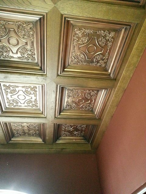 Decorative Ceiling Tiles Inc British Sterling Faux Tin Tile Drop In 24 X24