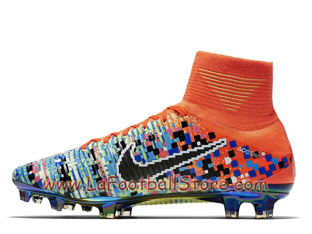 Nike Football X EA Sports Mercurial Superfly FG Cramoisi total Chaussure  Nike Pas cher De football