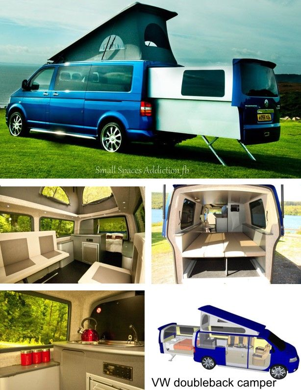 vw doubleback camper assorted pins pinterest vw doubleback and campers. Black Bedroom Furniture Sets. Home Design Ideas