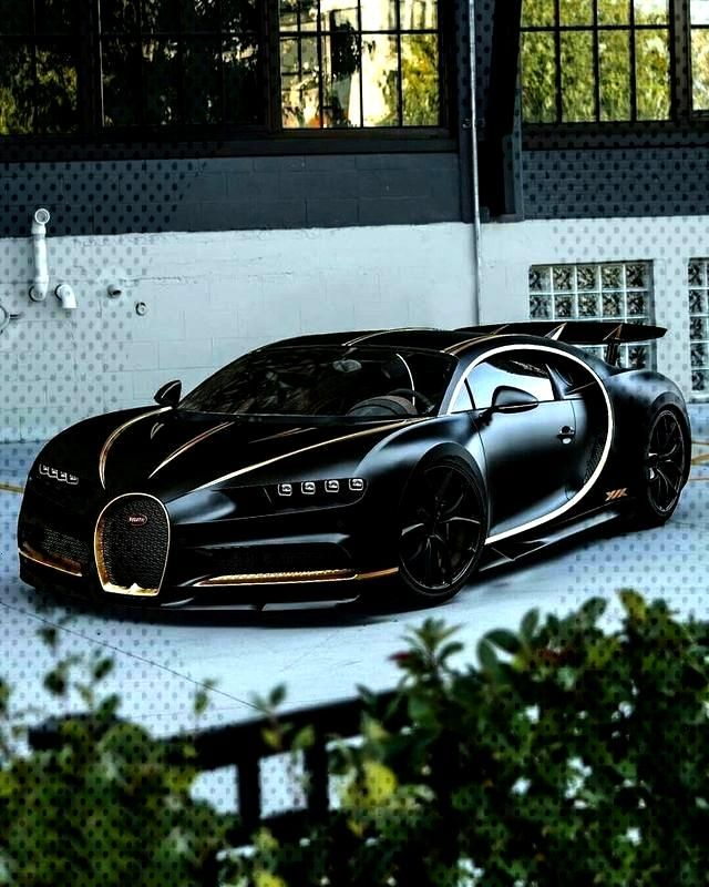 Black and Gold Bugatti Chiron cars wallpaper Perfect wallpaper for your iPhone if you're looking