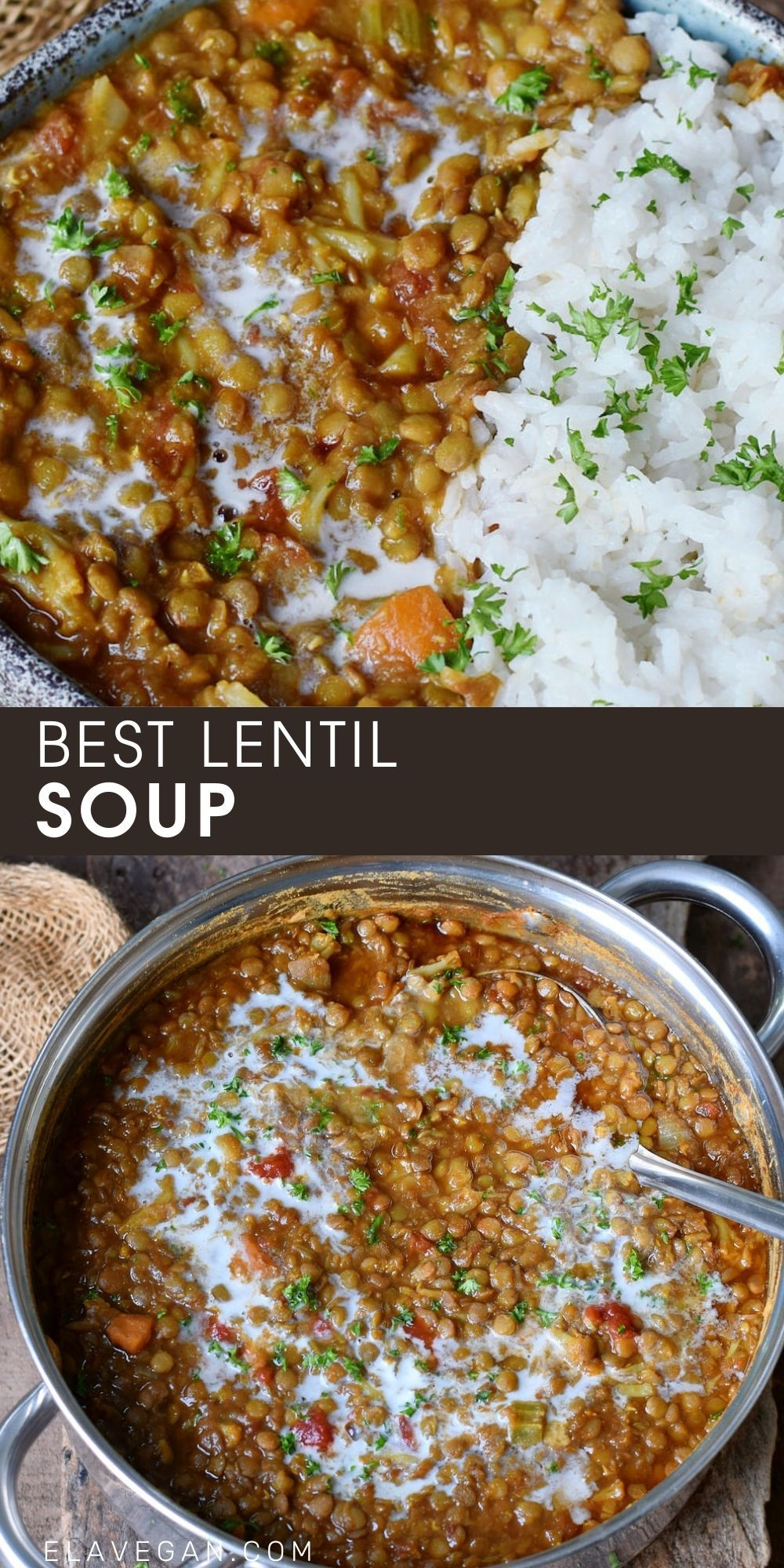 BEST LENTIL SOUP This best lentil soup recipe (tha