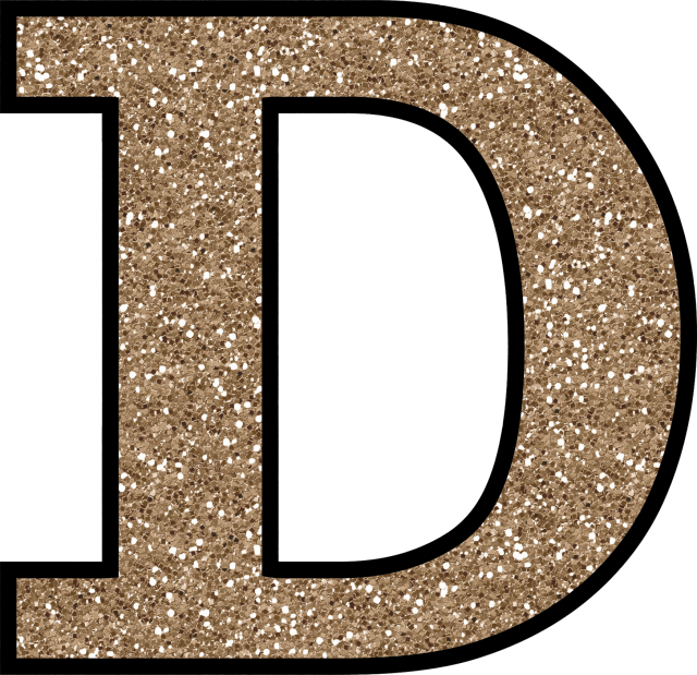 glitter without the glue free digital printable alphabet to download glitter letter d to print