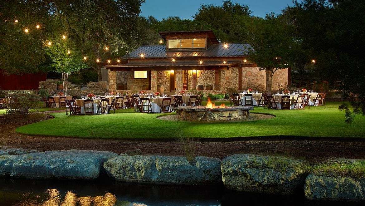 Outdoor Wedding Venues Austin, Texas Hill country