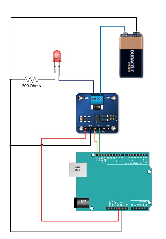 Ina219 Arduino Current Sensor Voltmeter Tutorial Quick
