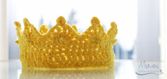 mami chips & crafts: Corona da re all\'uncinetto | Crochet ✄ | Pinterest