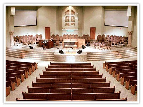 Church interior design church sanctuary floor plans for Church interior designs pictures