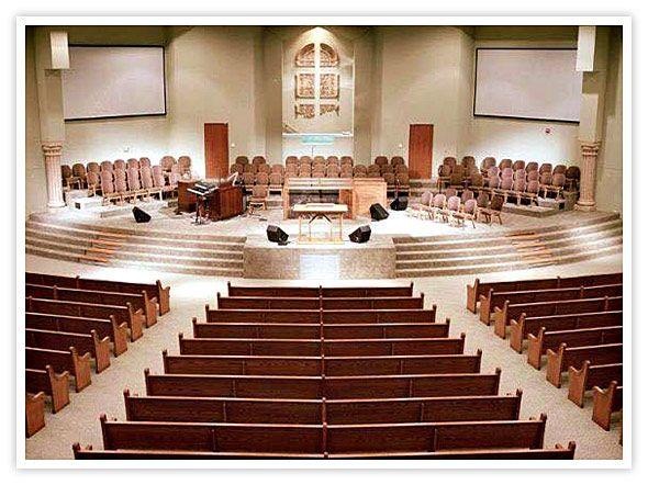 Church Sanctuary Floor Plans