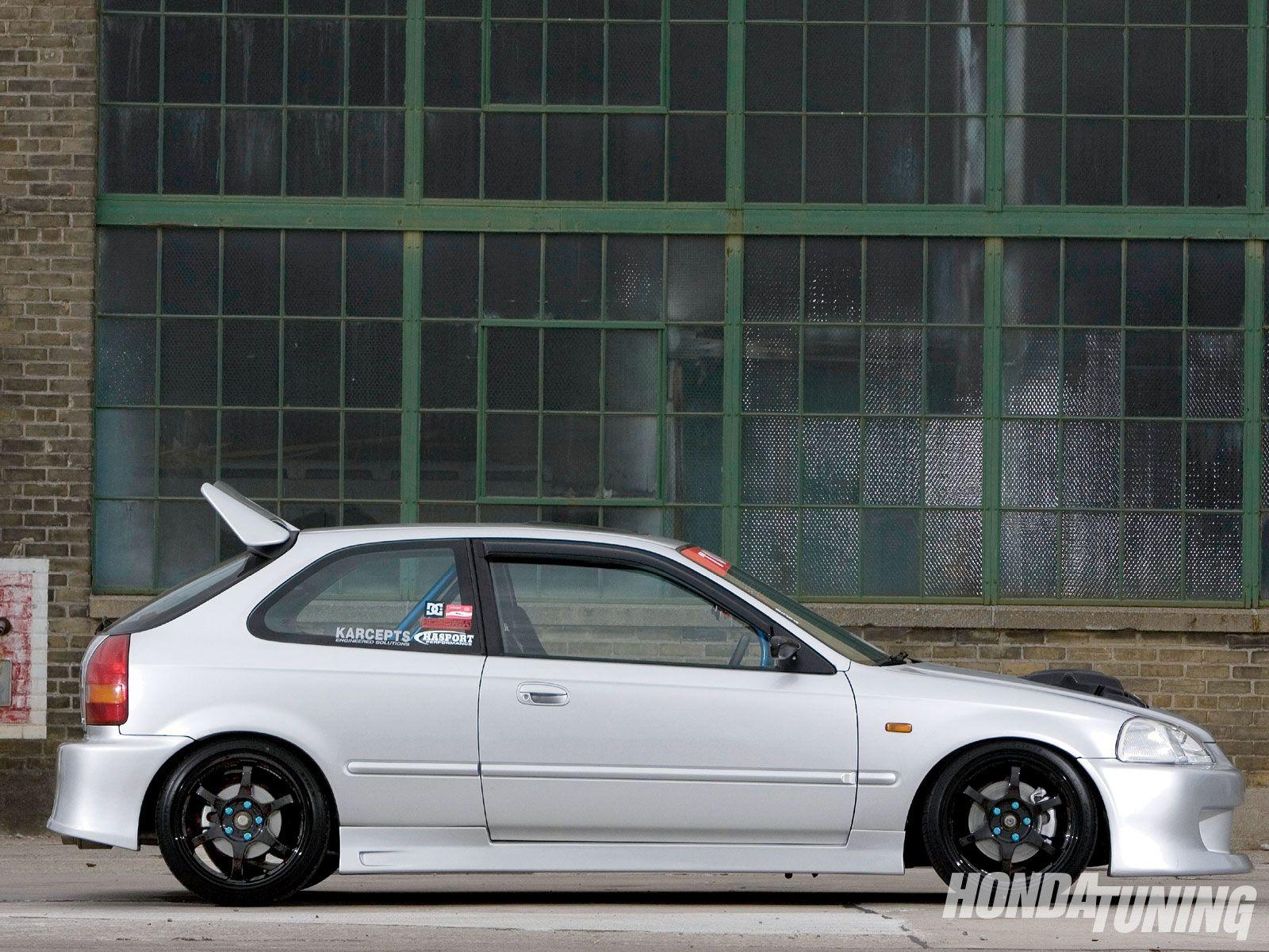 1997 Honda Civic Ek Hatchback Honda Tuning Magazine Honda Civic Hatchback Honda