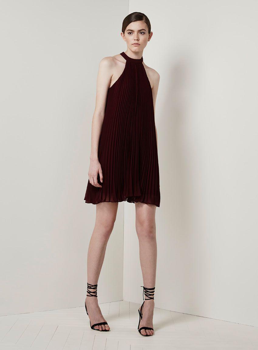 Keepsake Clarity Mini Dress – Fig