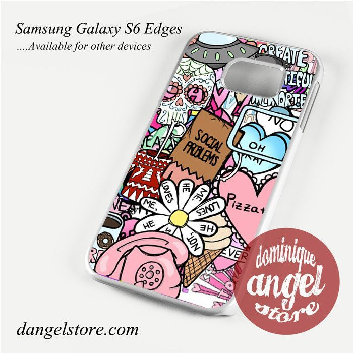 hipster collage Phone Case for Samsung Galaxy S3/S4/S5/S6/S6 Edge
