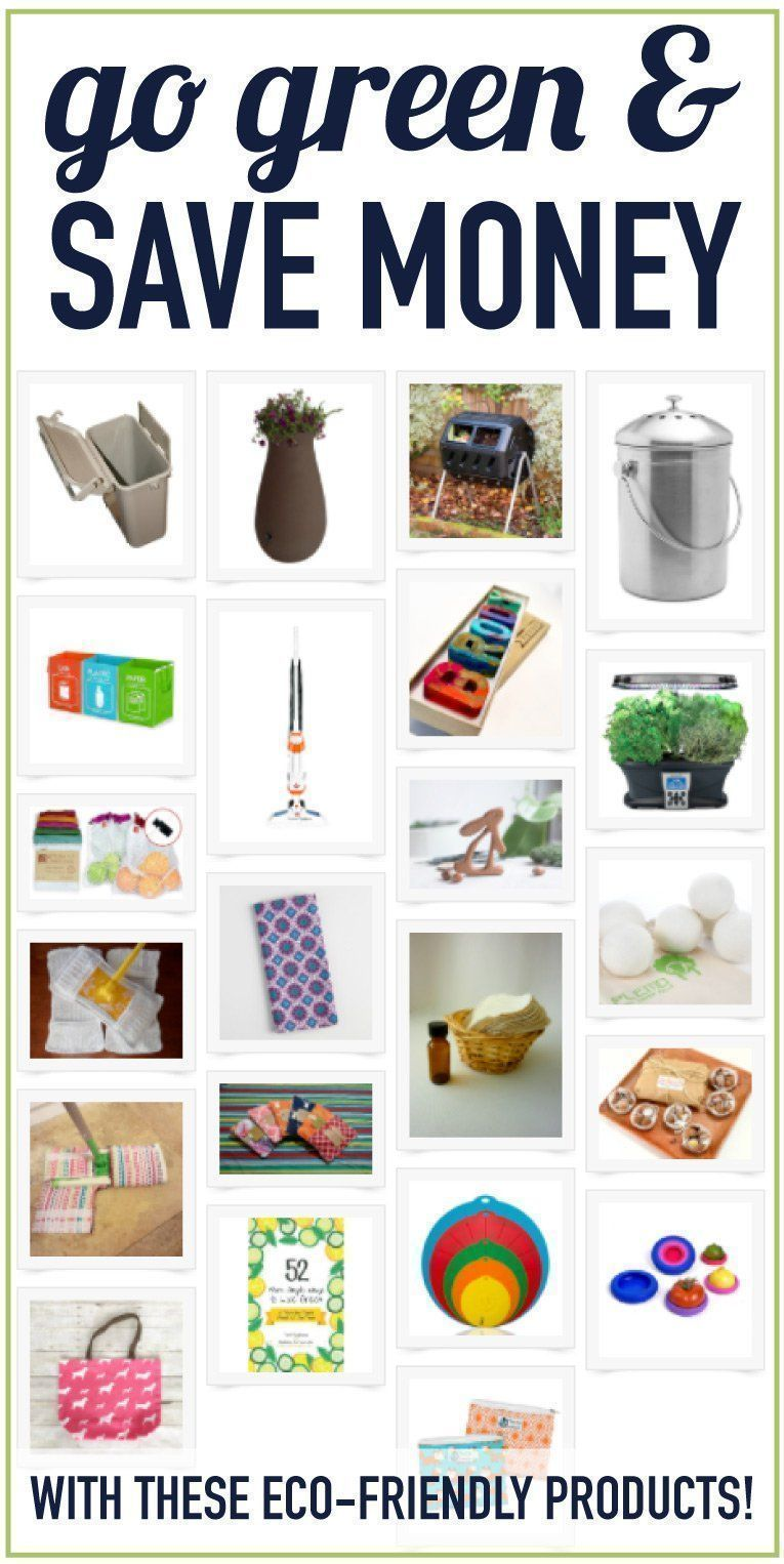 Go green at home! Adding just a few eco products to your home can go ...