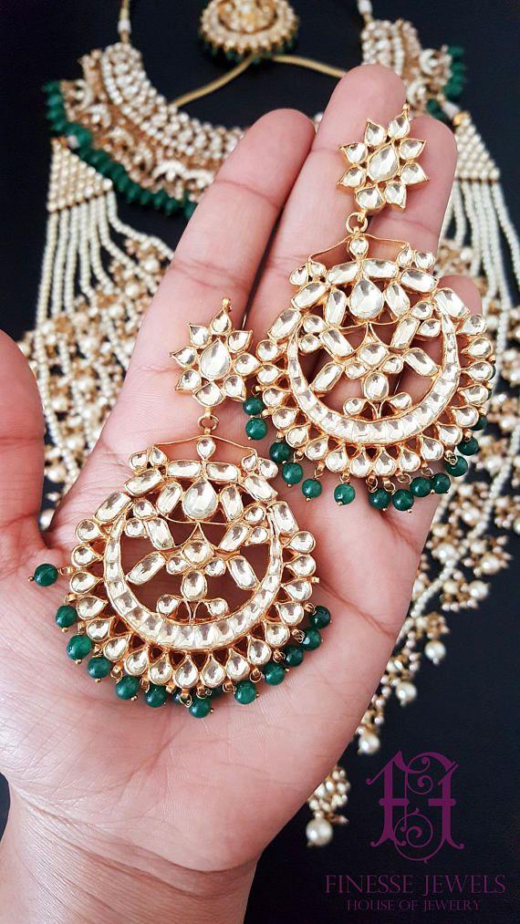 244068053bf Sabyasachi Indian Necklace Kundan Earrings Bridal Indian Necklace set. Indian  brides. Pakistani brides. Desi Brides