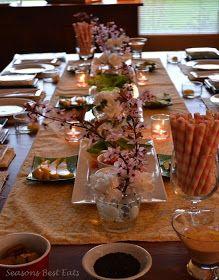 como decorar mesa para almoço japones & como decorar mesa para almoço japones   MESA POSTA...AMIZADE A ...