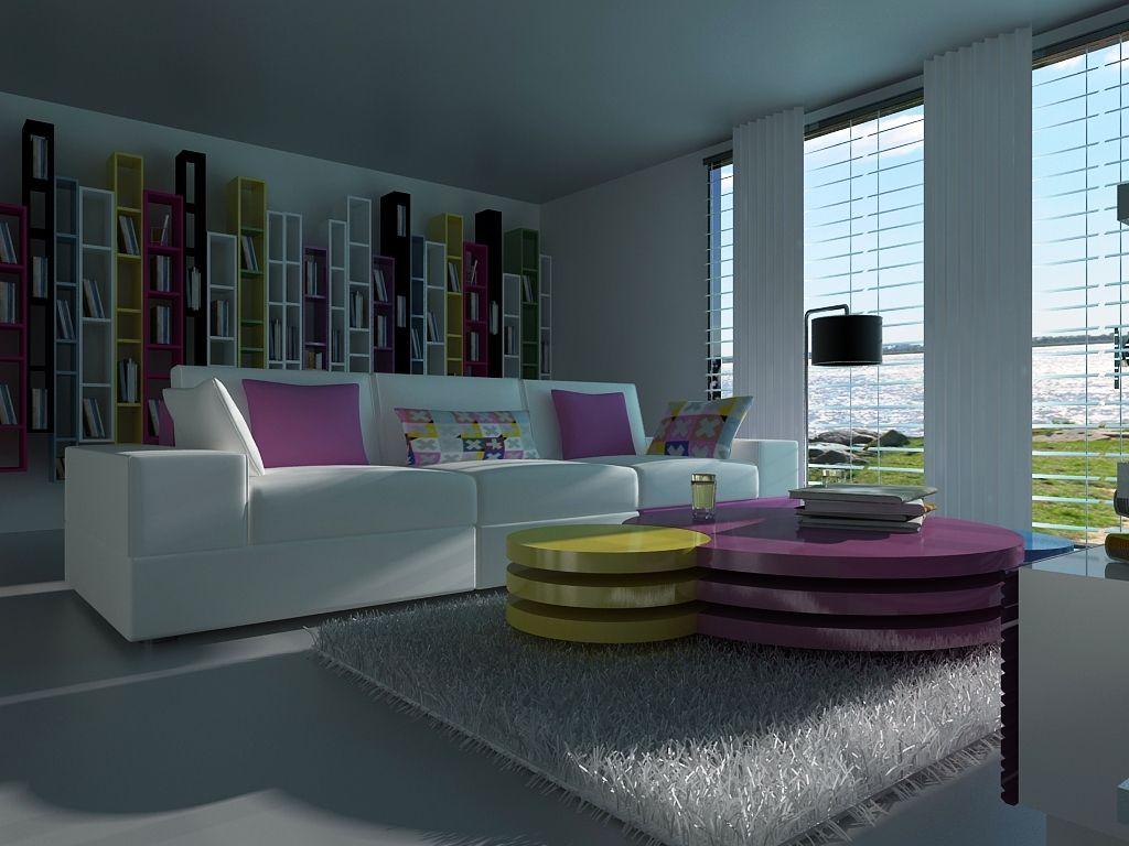 pop art living room | Interior design art, Pop design