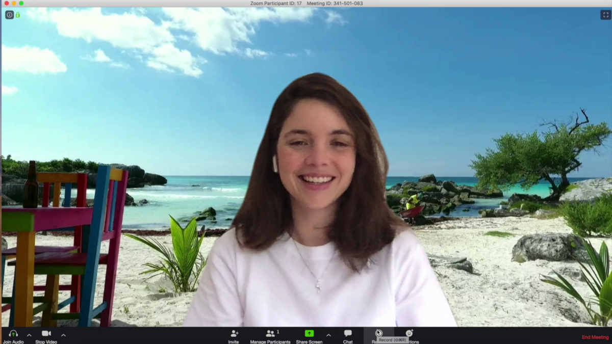 Rock Your Zoom Video Meetings With Fun Video Backgrounds Video Background Zoom Call Cool Kids