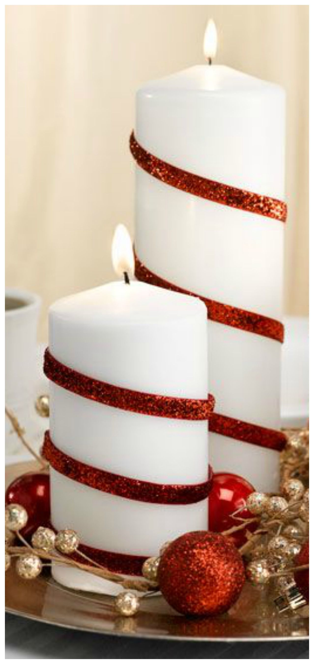 25 Red and White Christmas Decoration Ideas | Peppermint, White ...