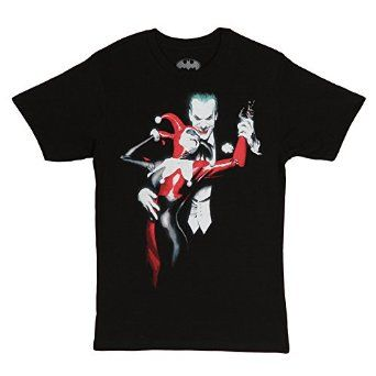 ef4886c1 Blusen, Tops & Shirts Harley Quinn Costume Joker Batman All Over  Sublimation Junior T Shirt
