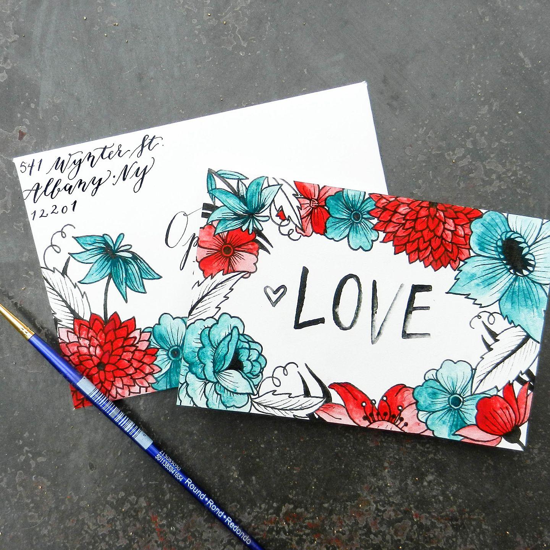 Printable Valentine S Day Card Envelope