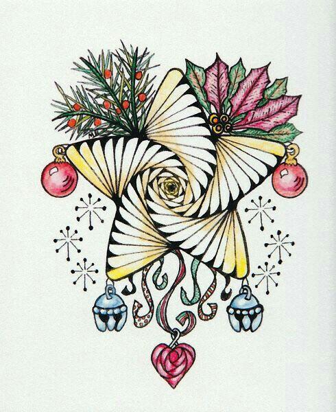 Pin by Karen Bybee on ZEN Doodle-drawing   Zentangle ...