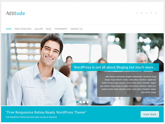 WordPress › Popular « Free WordPress Themes | SWM BASIX website ...