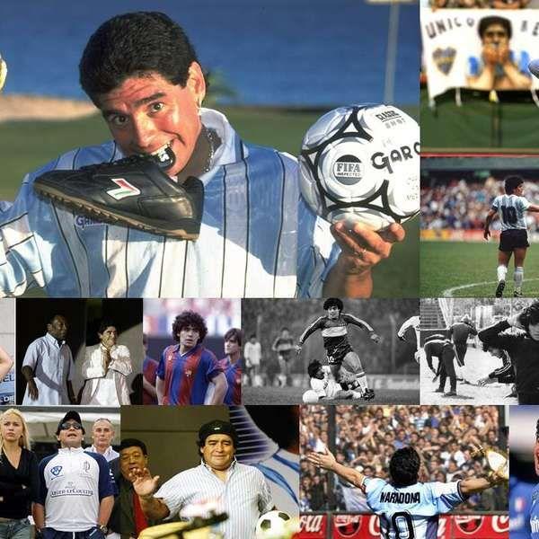 Maradona, en 54 frases para festejar su cumpleaños 54