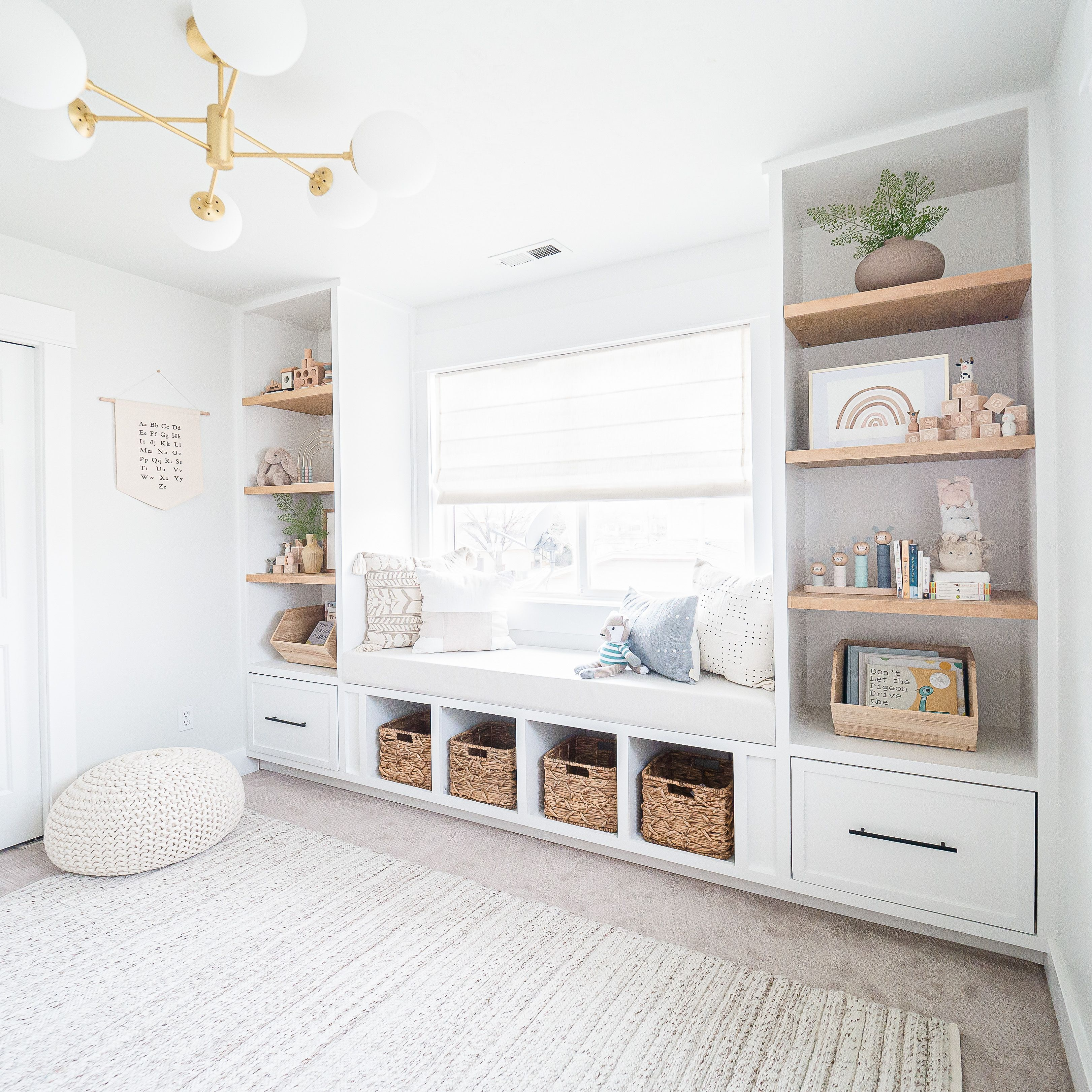 Photo of DIY Built-in Reading Nook | Nursery Makeover — Mr. Build It