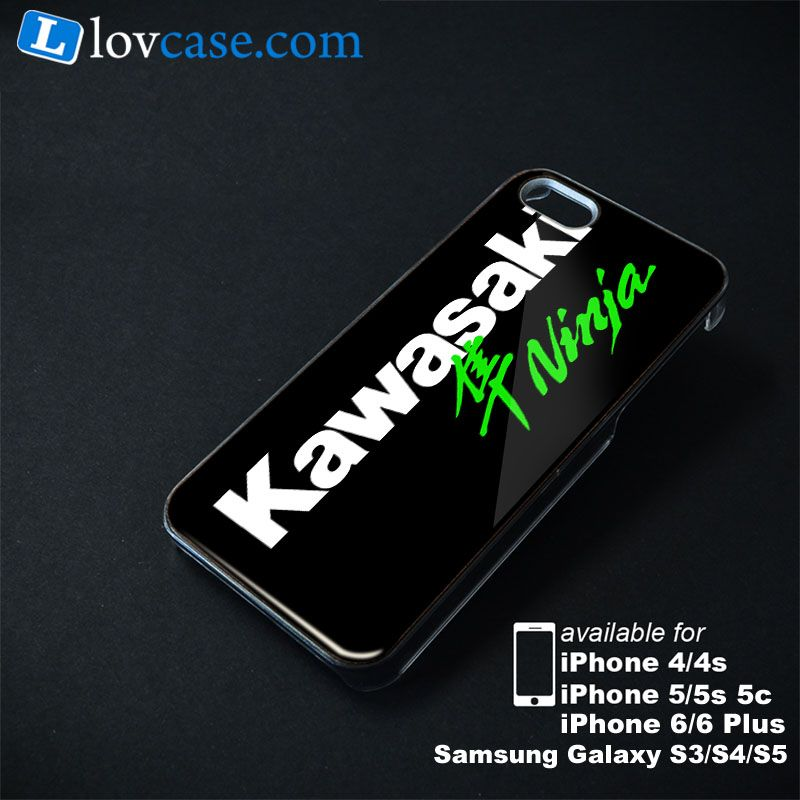 Kawasaki Ninja Logo Apple Iphone Samsung Galaxy Case