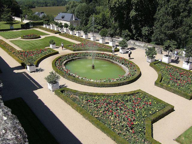 Château d'Ussé (Indre-et-Loire). Centre
