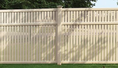 Imperial Smooth Bufftech Fence Fence Decking And Railing Certainteed Vinyl Fence Vinyl Fence Panels Backyard Fences