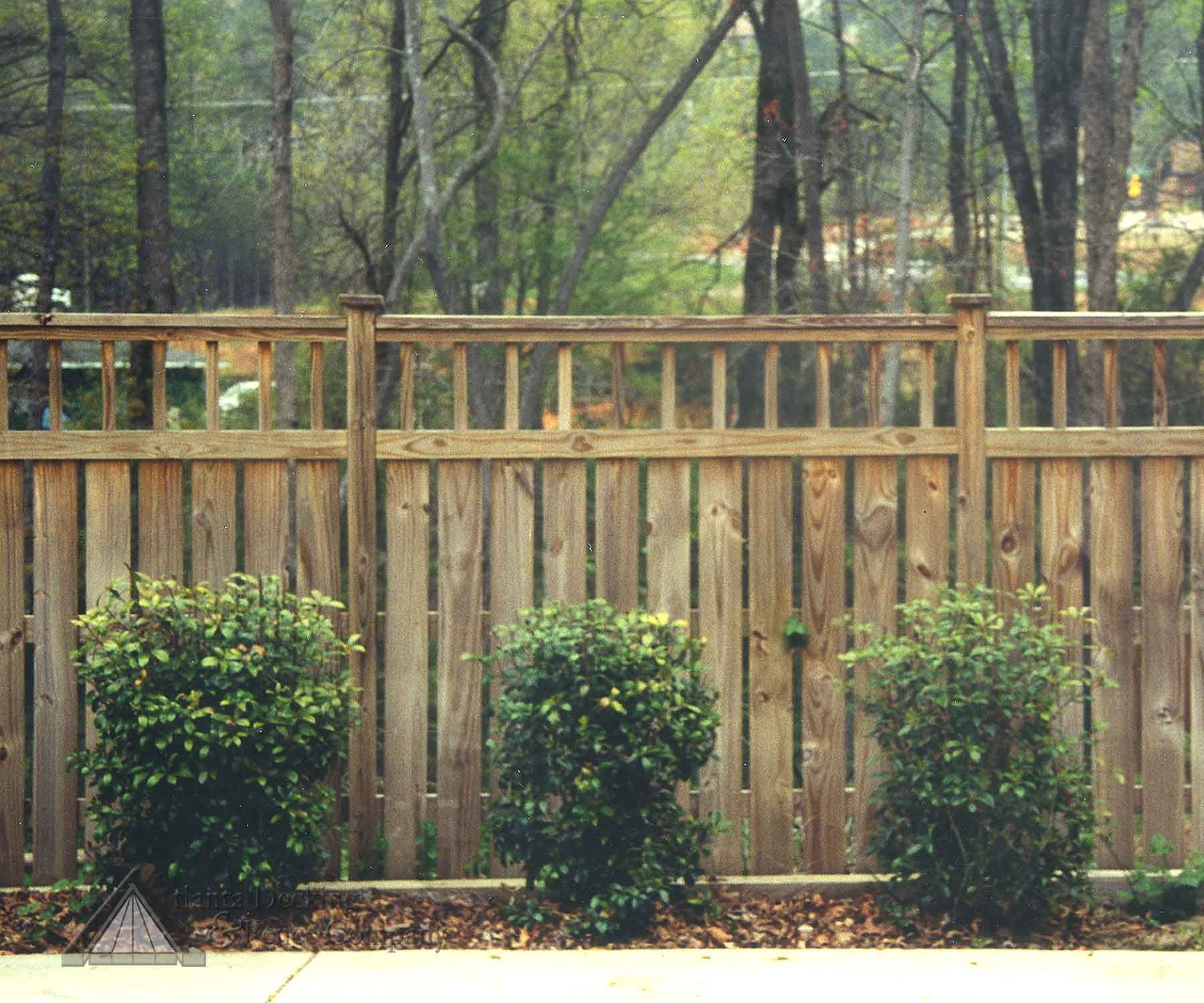 Privacy Fence Pictures Of Privacy Fence From Atlanta
