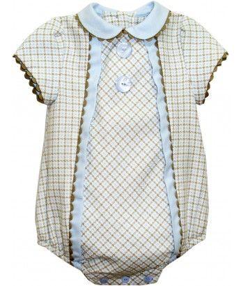 f239d580a Miranda - Miranda baby boys romper - 115p - £32.99 Traditional Fashion,  Traditional Outfits