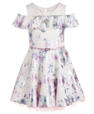 Beautees Big Girls Belted Skater Dress & Reviews - All Girls' Dresses - Kids - Macy's -   14 dress For Teens skater ideas