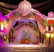 Sivas decorators provide stage props fresh silk flowers for Balloon decoration in coimbatore