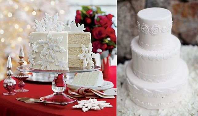 Snowflake Wedding Cakes Cake Geek Magazine Christmas Cake Recipes Snowflake Wedding Cake White Cake Recipe