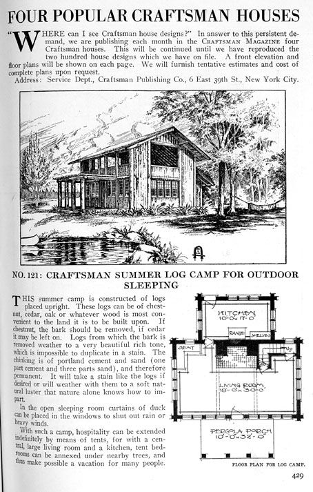 Find Old House Plans Here Historic Bungalows More Craftsman House Plans Craftsman House Craftsman House Designs