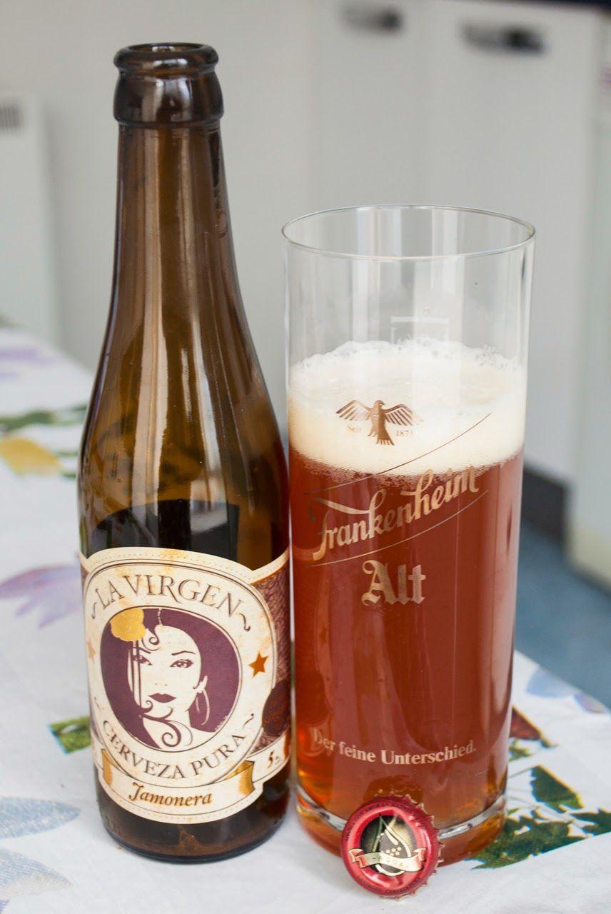 La Virgen Jamonera Fabricacion De Cerveza Cerveza Virgen