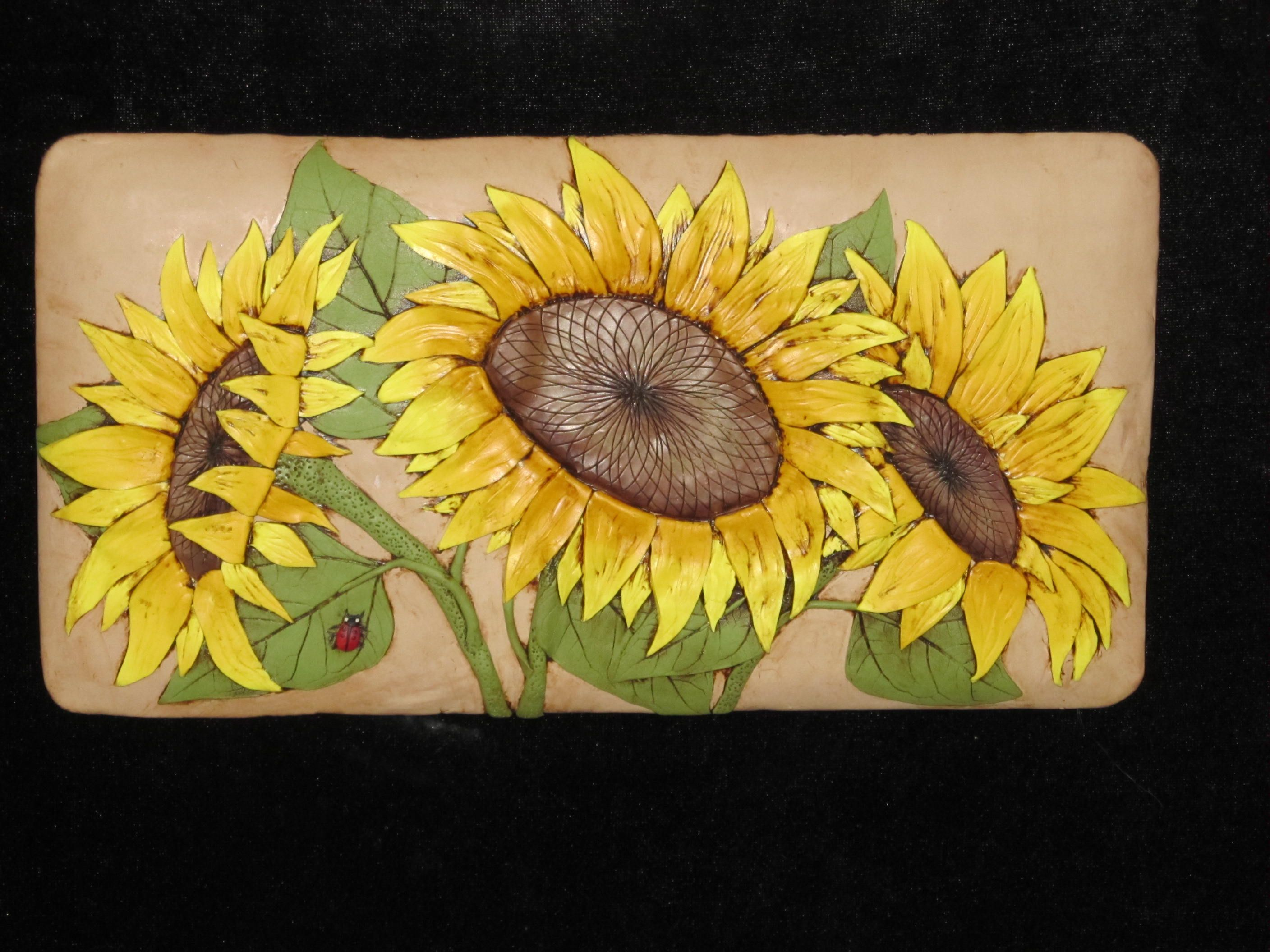 Polymer clay wall art by Karen Brueggemann | My Polymer Clay Work ...