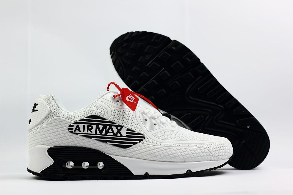 Supreme Nike Air Max 90 Nano Drop Plastic White Black Shoes | Nike ...